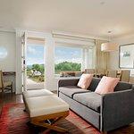 One bedroom beach suite has ocean views