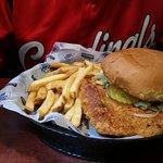 Pork Tenderloin and fries