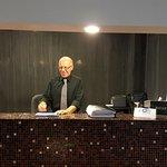 Il Signor Rocco responsabile della Reception