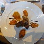 froe gras frais aux abricots caramélisés