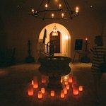 Lobby after dark
