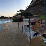 La piscina esta muy bien