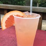 Great drinks and outdoor deck fun