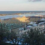 vista sulla spiaggia dalla mia camera