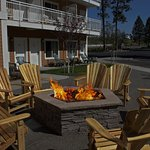 Our Outdoor fire pit is waiting for you!