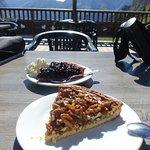 Tarte myrtilles et tarte aux noix le 11/08/2016