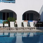 Rooms 102 and 103 by the pool