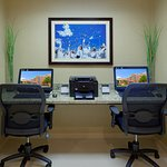 Get work done or check email at our convenient business center