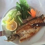 Delicious grilled seabass.