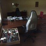 Chef-Büro. Kein Computer???