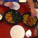 Somali Anjera and Ugali at Fatima's Cafe