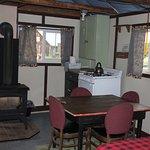 Bowman Cabin interior
