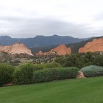 View of Garden of the Gods from private balcony