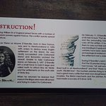 Historical information at legacy centre.