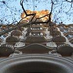 El frente del Palacio.