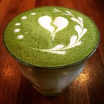 Philimonius koffiebar Aalst matcha cappuccino latte art
