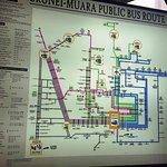 Brunei-Muara public bus route (we found at the bus station?)