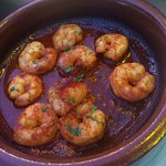 Shrimp with garlic and paprika - Yum!