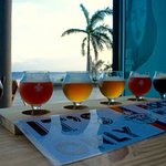 A real beer tasting on the island, Ohhh Yeahh!