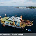 Seaventures Dive Rig, Mabul Sipadan Sabah