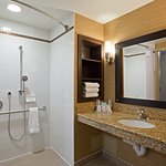 Wheelchair Accessible Guest Bathroom