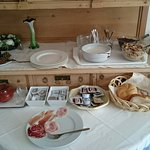 Unser Frühstück am ersten Morgen...