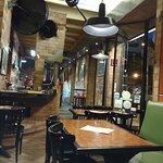 Interior de la pizzeria