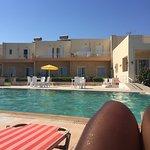 Fajny basen i otoczenie