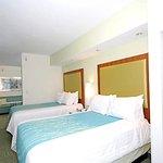 Double/Double Suite Sleeping Area