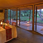 The Dining Area at Encounter Mara