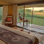 Views from your bedroom at Encounter Mara