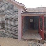 Haus aus Bierflaschen