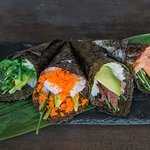 En restaurante Inasia podrás degustar Sushi fresco, gran variedad de temakis y nigiris.