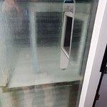 Glass mail box