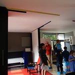 Upper loft room
