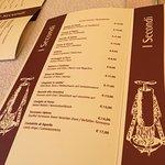 Menù e piatti