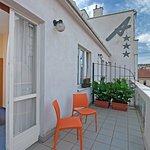 Hotel Andante - Balkon