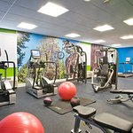 Stay in shape at our 24 hour Fitness Center