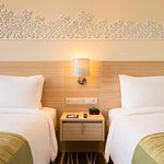 Twin Beds Room at Holiday Inn Express Semarang Simpang Lima