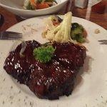 The 500g rump steak! Yummy!