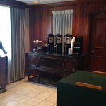 Coffee center in Dining Room