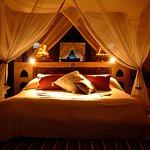Your bedroom at Matemwe Retreat