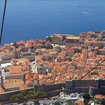Old town Dubrovnik Carcable view