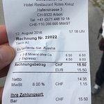 Hotel Rotes Kreuz Restaurant Foto