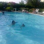 piscina piccola ma davvero carina a pochi passi dal mare