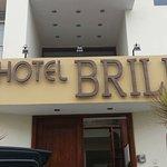 Entrada del hotel, muy recomendable !!!