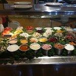 Sald bar and buffet