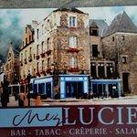 carte de visite CHEZ LUCIEN