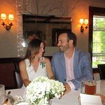Our rehearsal dinner! It was magic :)