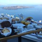 Santorini View Foto